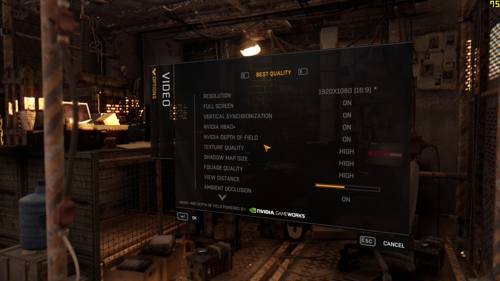 Dying Light PC Graphics Settings