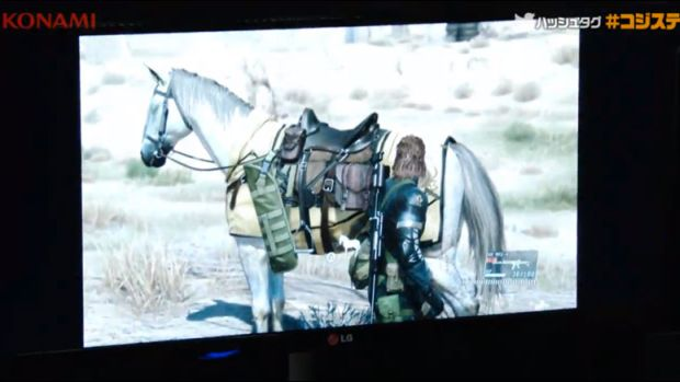 Metal Gear Solid 5_The Phantom Pain_Horses