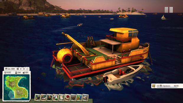 Tropico 5: Waterborne DLC