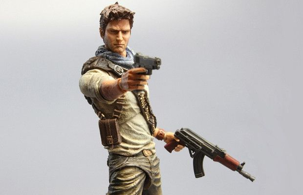 12. Uncharted 3 - Play Arts Kai Nathan Drake Action Figure