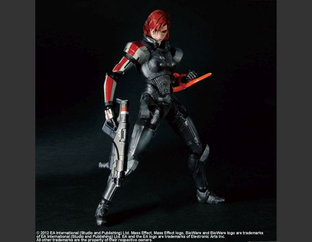 43. Mass Effect 3 - Play Arts Kai Female Commander Sheppard
