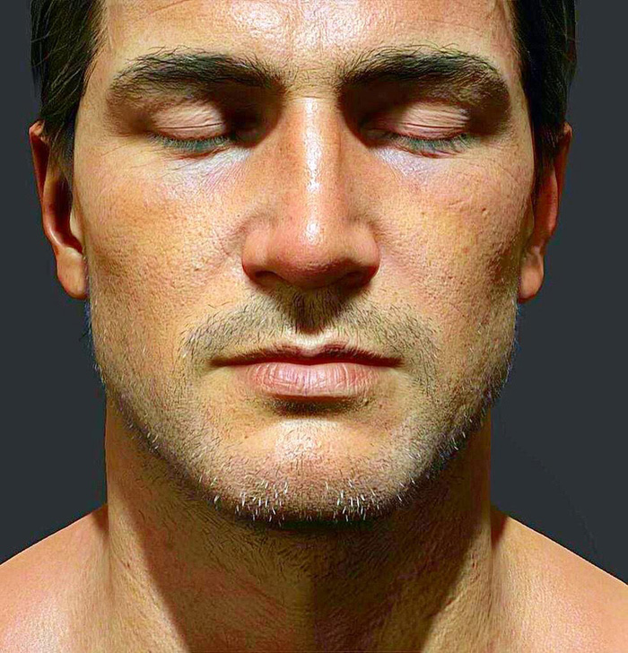 Uncharted 4 A Colour Shifted Nathan Drake Nearly Looks Real