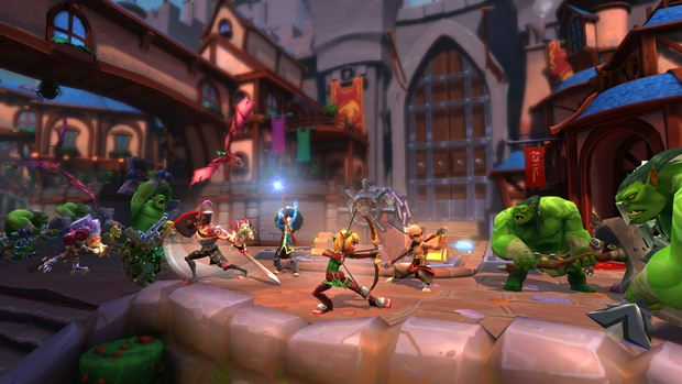 Dungeon Defenders 2 pc ps4