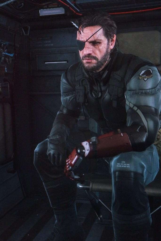 mgs5 snake growing horn