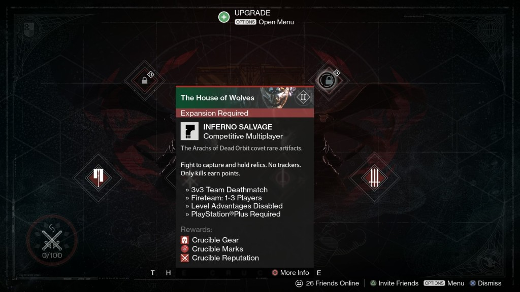Destiny New Crucible Events Coming Before House of Wolves DLC