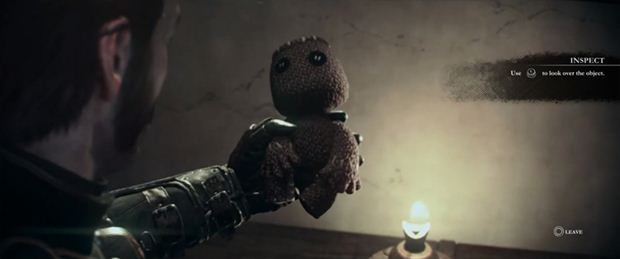 the order 1886 sackboy reference