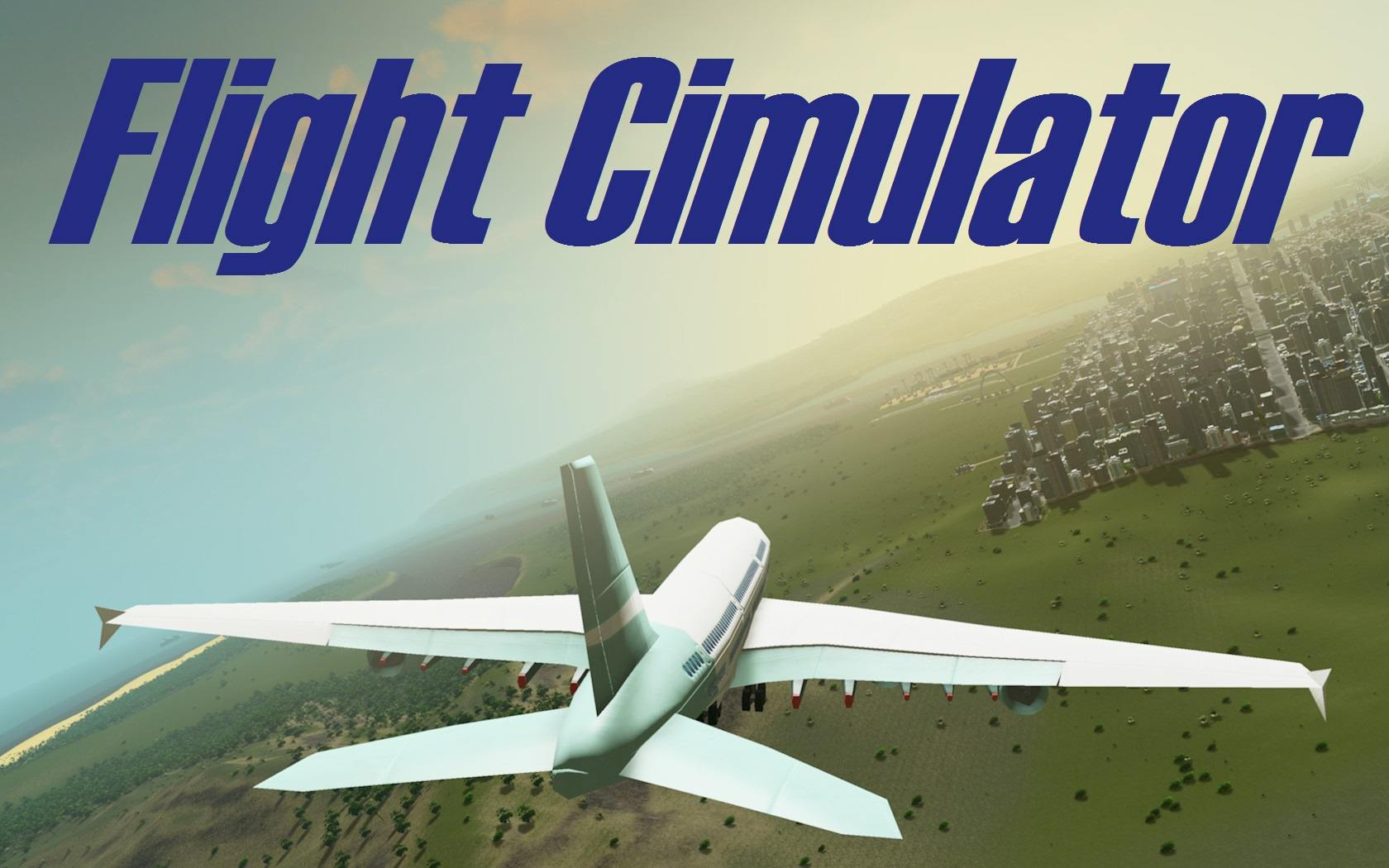 Cities Skyline Flight Cimulator