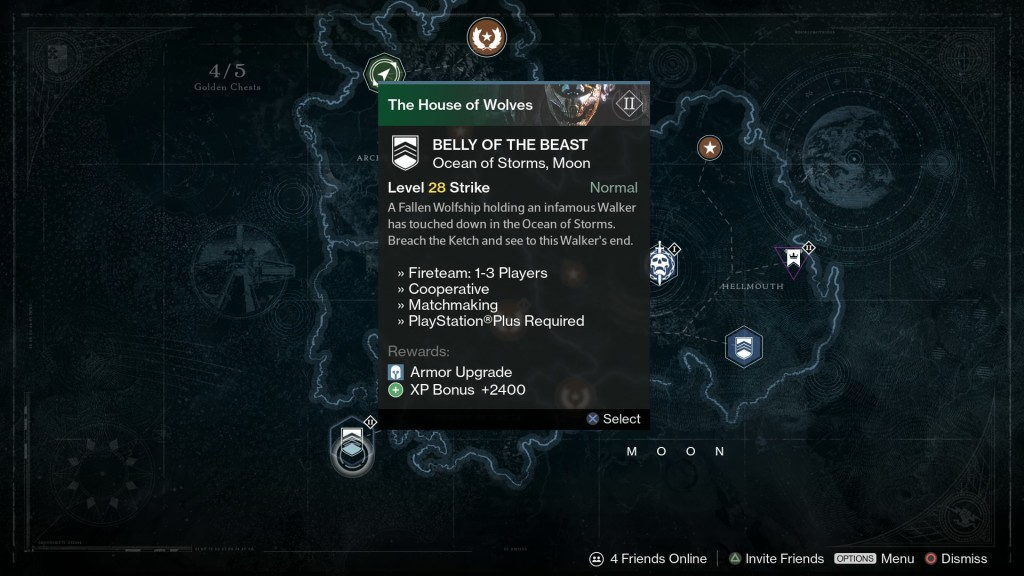 Destiny's House of Wolves Belly of the Beast leak