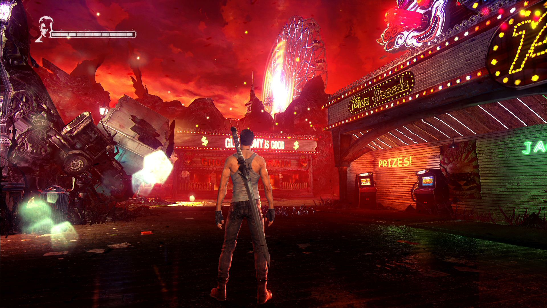 Devil May Cry Definitive Edition Visual Analysis ? PS4 vs. Xbox One