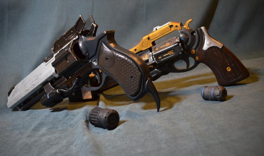 Destiny Handcannon Duo