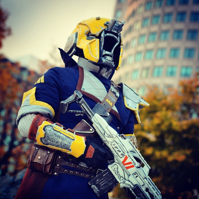 Destiny Fan Makes Armour & Auto Rifle