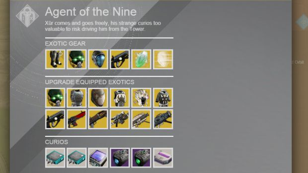 Destiny_Xur_February 3rd