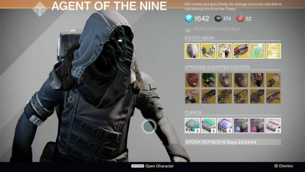 Destiny_Xur_March 6th