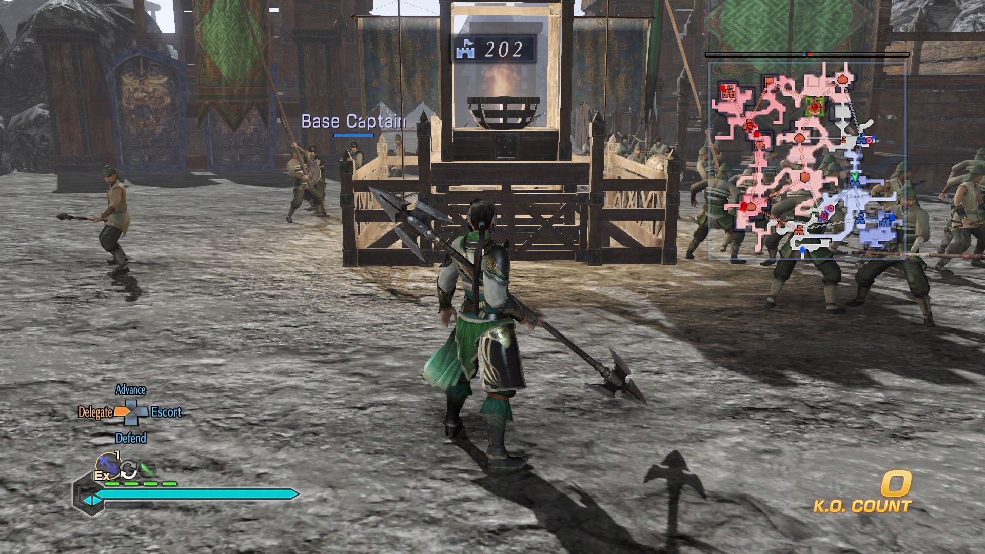 Dynasty Warriors 8 Empires ps4