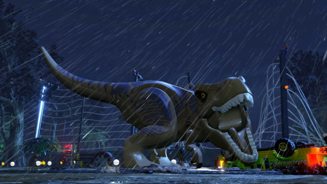 Lego Jurassic World T Rex
