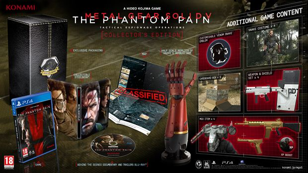 metal gear solid 5 the phantom pain 'Collector's Edition'