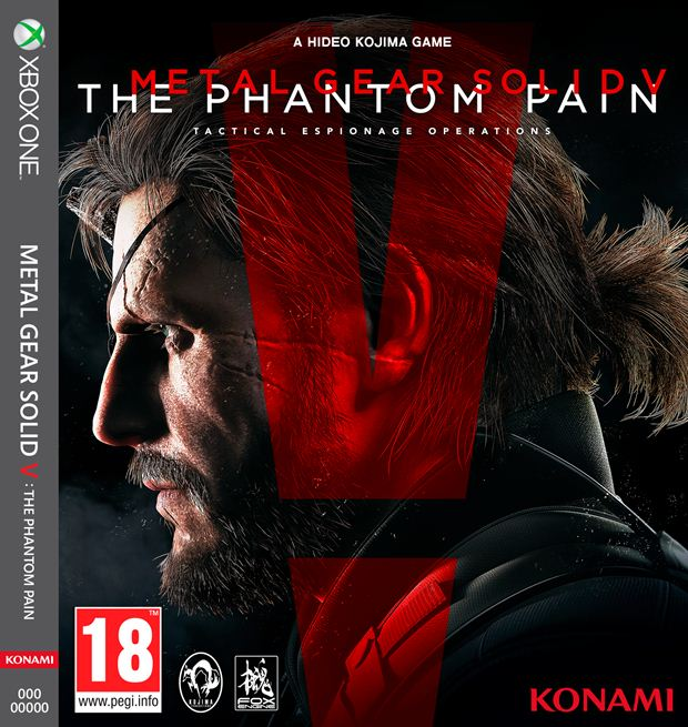 metal gear solid 5 the phantom pain xbox one box art