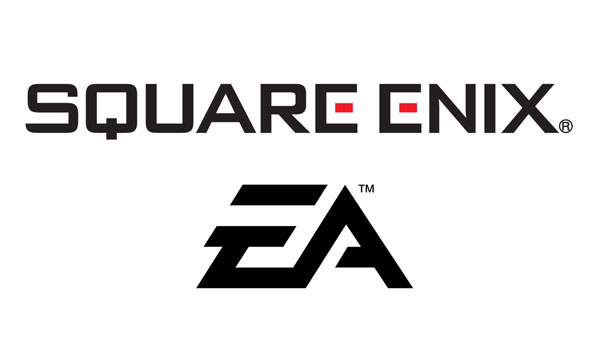 Square Enix & EA Logos