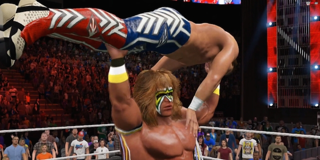 WWE 2K15 Ultimate Warrior DLC, Path of the Warrior