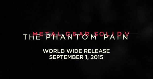 metal gear solid 5 the phantom pain september 1st release date