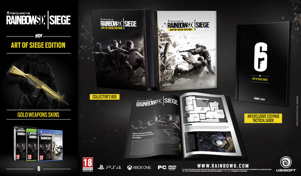 Tom Clancy's Rainbow Six: Siege collectors edition