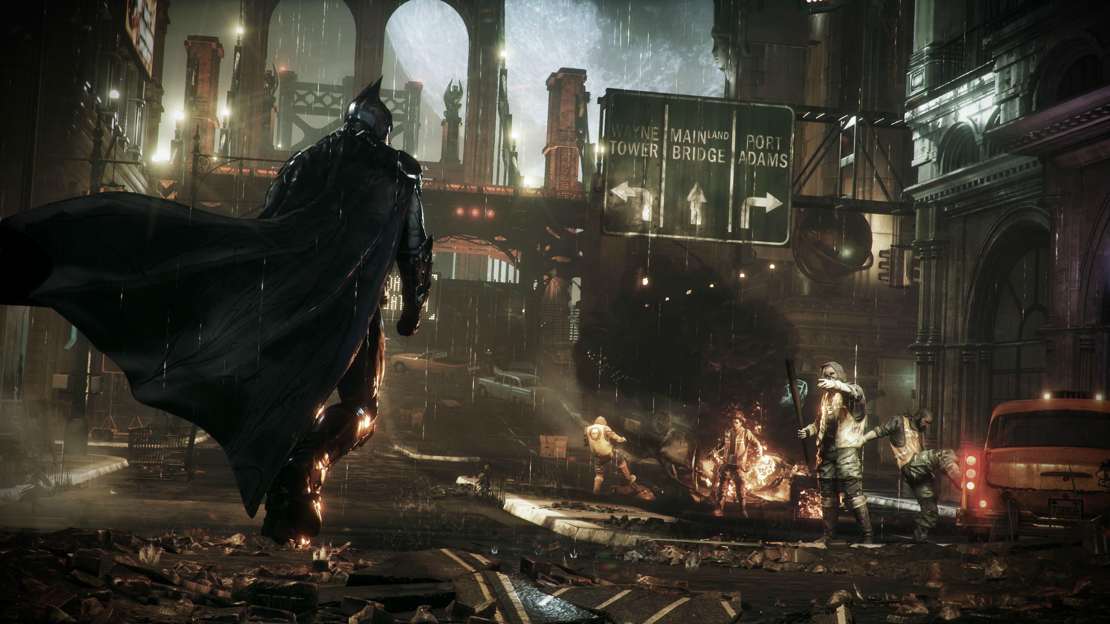 Batman Arkham Knight 4K
