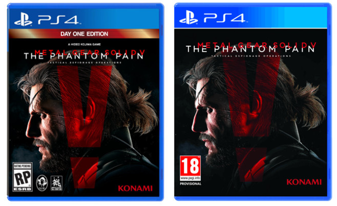 Metal Gear Solid V: The Phantom Pain With Kojima's Name Removed