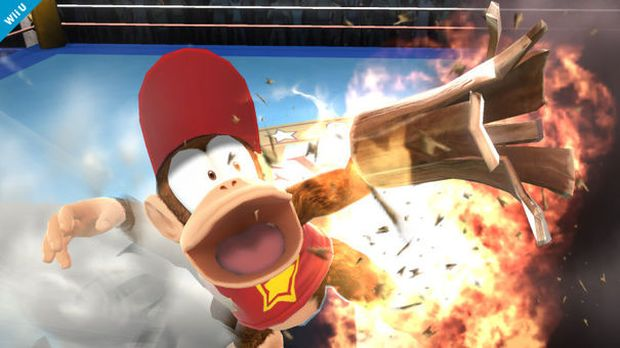 Super Smash Bros. Wii U_Diddy Kong