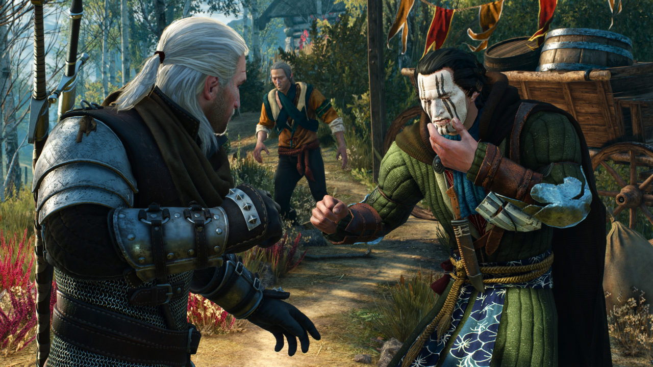 Witcher 3 Map Size Compared To Gta5 Skyrim Far Cry 4 New Screens Show Different Visual Settings
