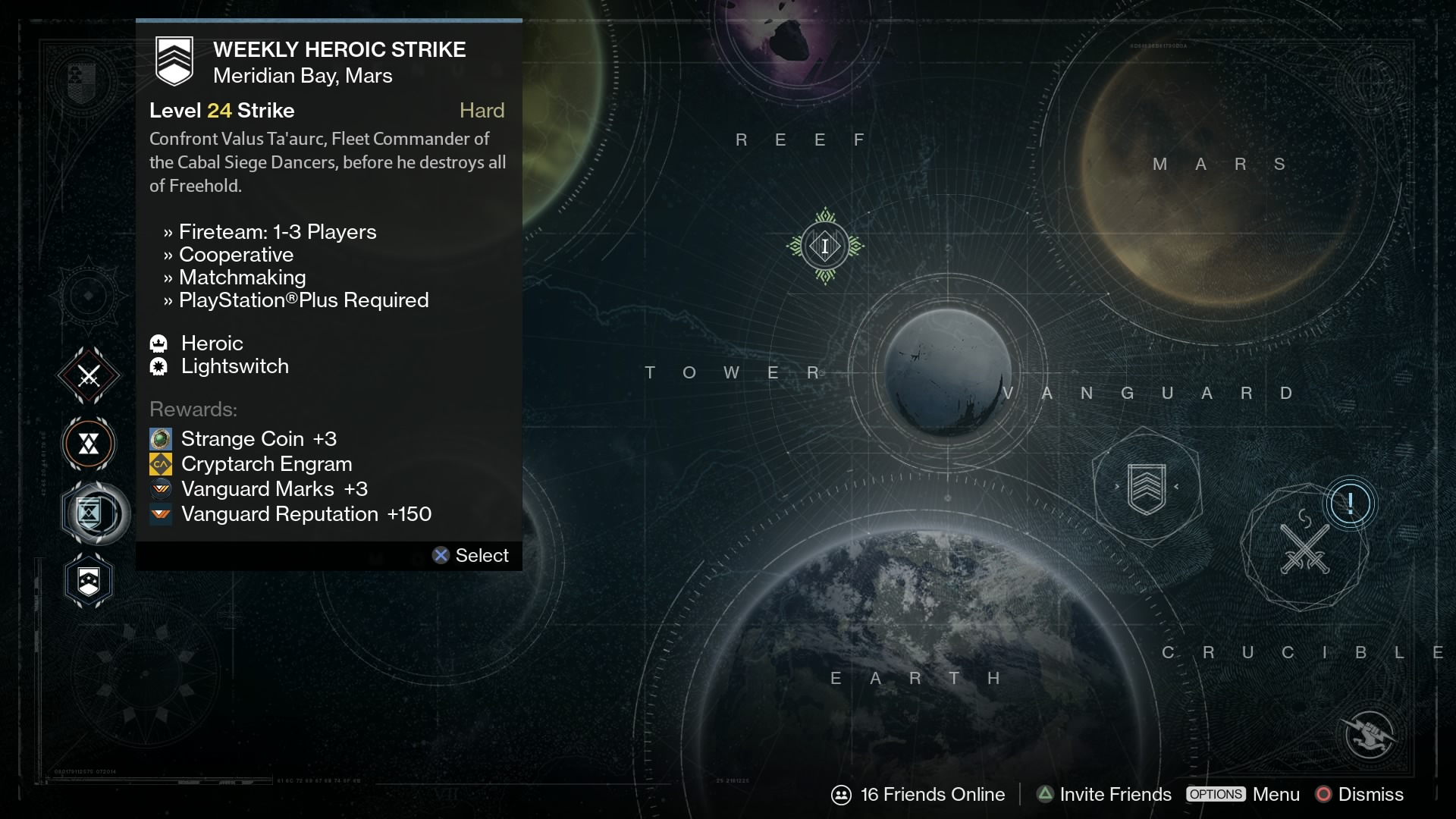 destiny heroic strike
