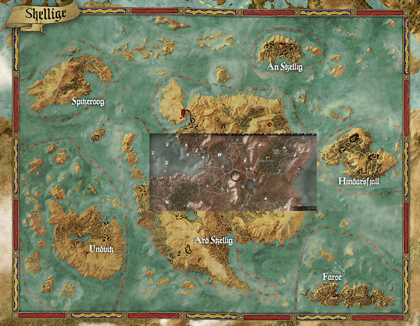 Witcher 3 Map Size Compared To Gta5 Skyrim Amp Far Cry 4