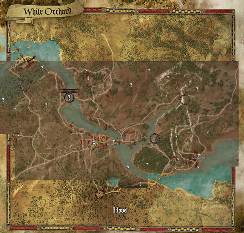 The Witcher 3 S Map Size Compared To Gta5 Skyrim Far Cry 4 Xboxachievements Com