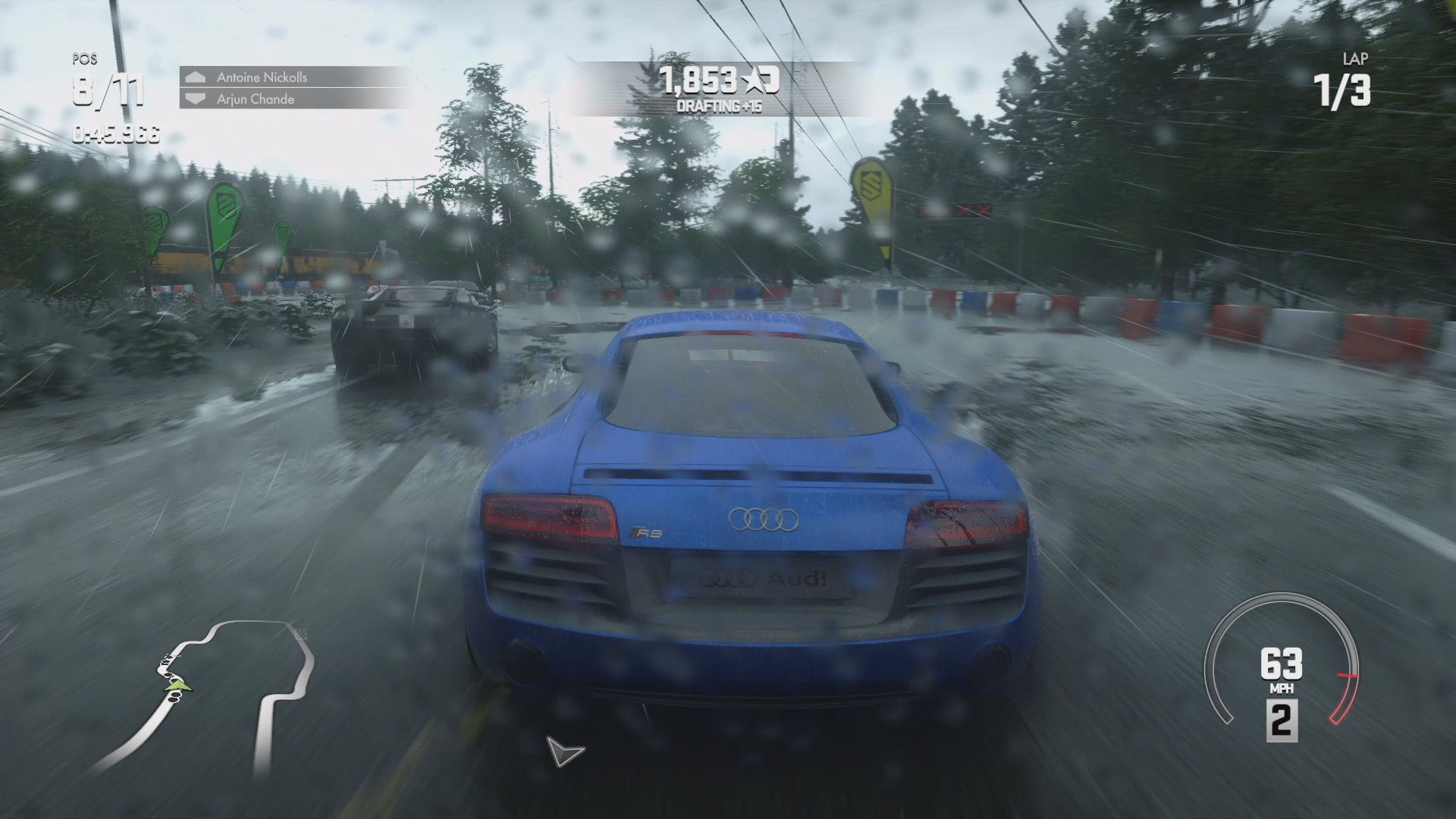 PROJECT CARS Note PS4 Footage Contributed By Alan Lee