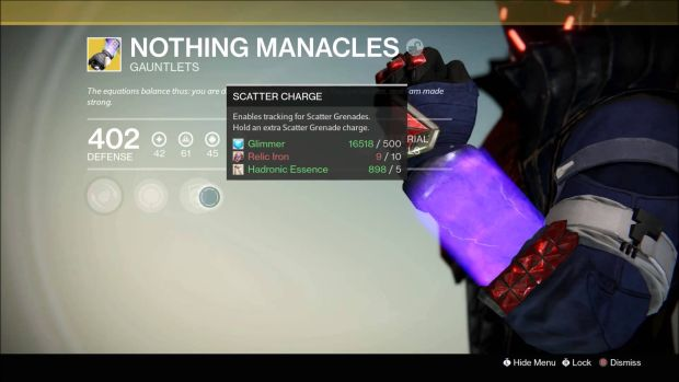 Destiny_Nothing Manacles