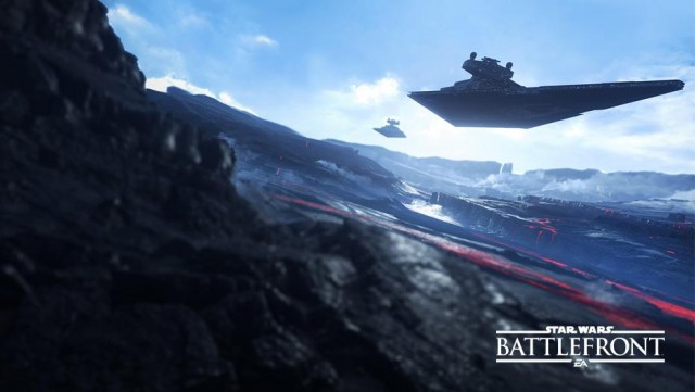 Star Wars Battlefront Star Destroyer