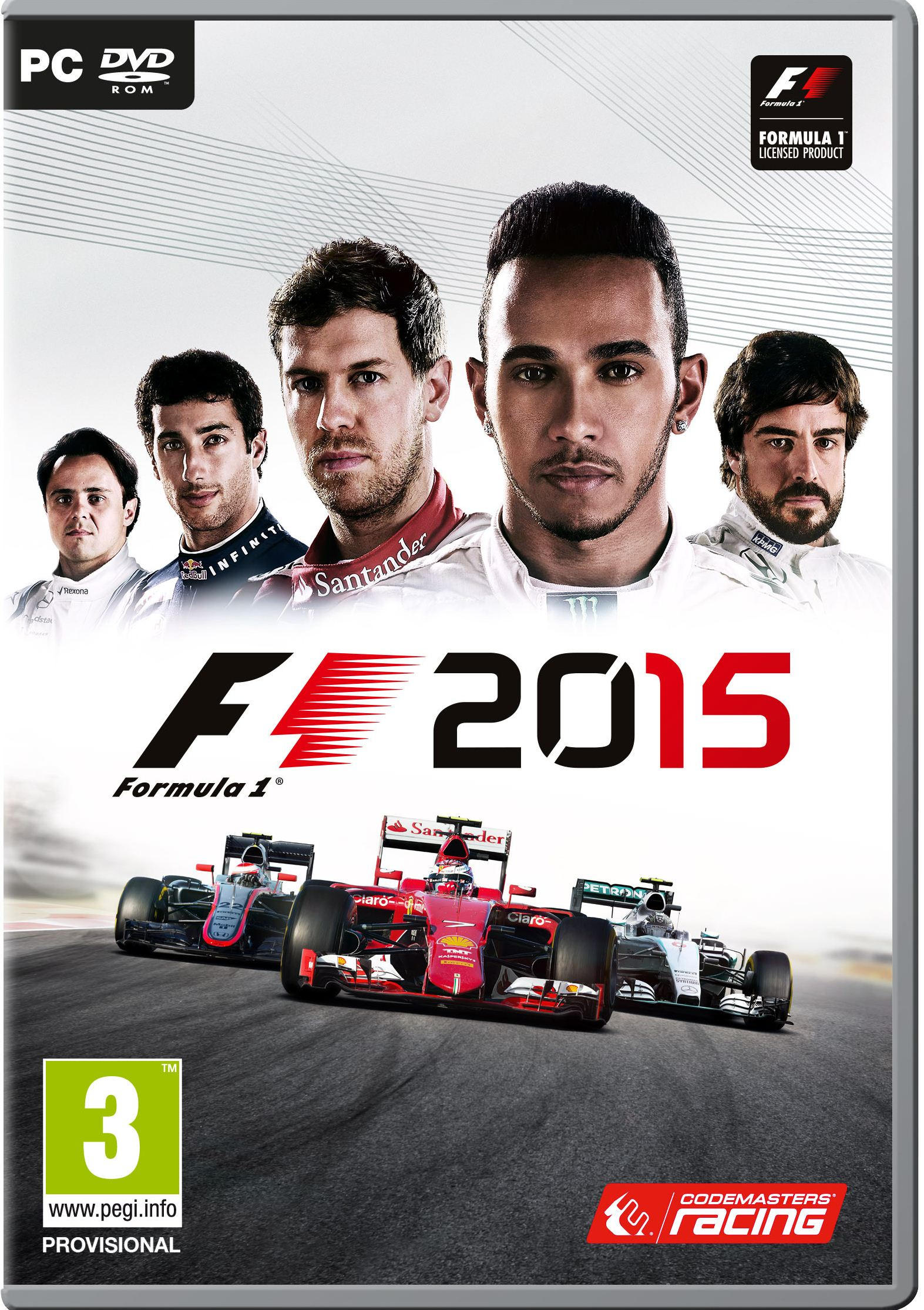 F1 2015 (Video Game) – News, Reviews, Videos, Screenshots And Wiki