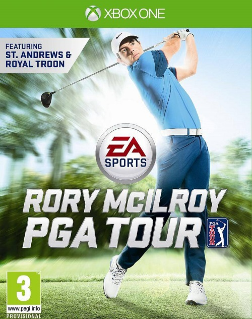 Rory McIlroy PGA Tour Box Art