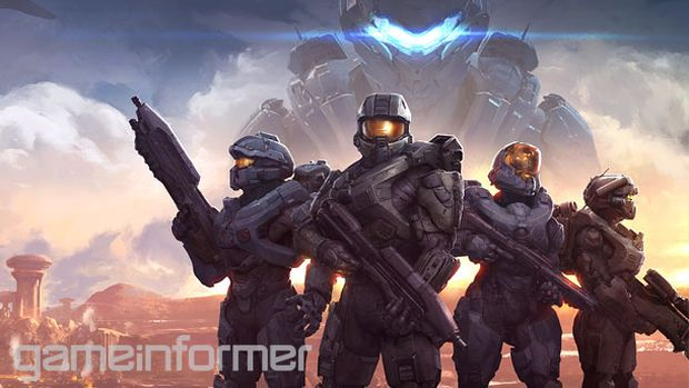 Halo 5 Guardians_Game Informer cover