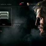 Check Out The Metal Gear Solid 5: The Phantom Pain PS4 Theme In Action