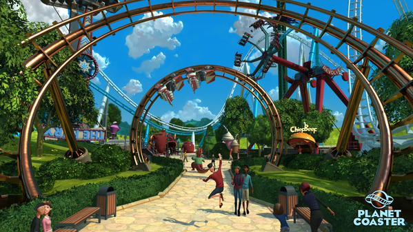 Planet Coaster Simulation Evolved