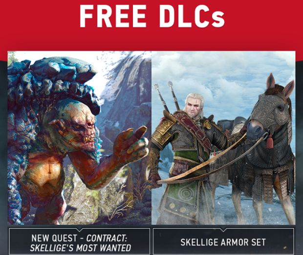 The Witcher 3 DLC_Skellige Armor