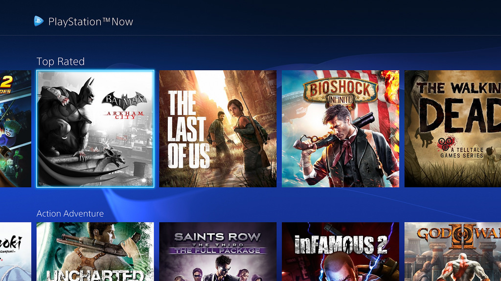 ps now new ui