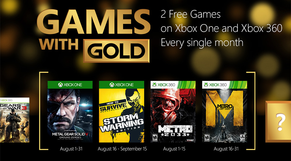 games with gold august 15