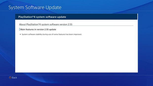 ps4 update 2.55