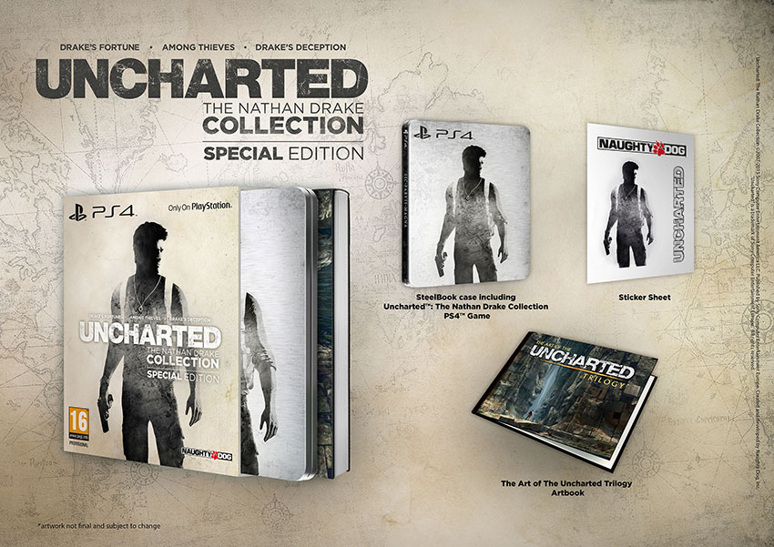 uncharted nathan drake collection special edition