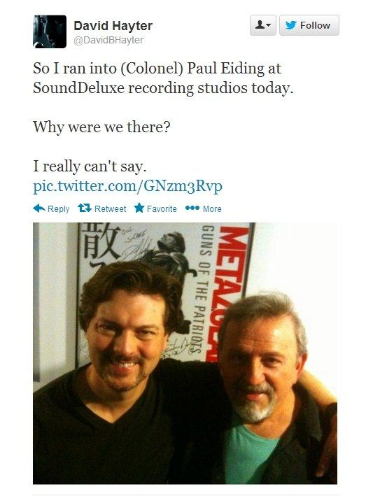 David Hayter tweet mgs5