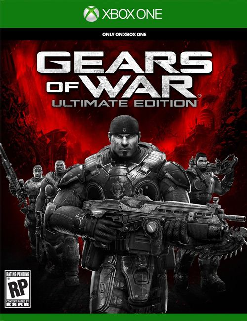 Gears of War- Ultimate Edition Box Art