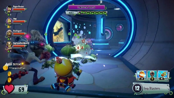 Plants Vs Zombies Garden Warfare 2 Interview Into The Danger Zone Video Game News Reviews