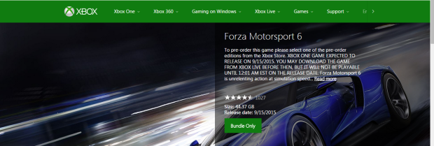 forza 6 file size