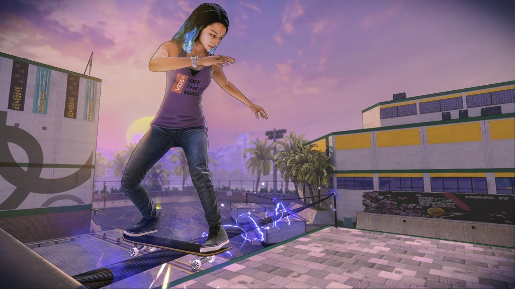 tony hawk 5 stylized graphics